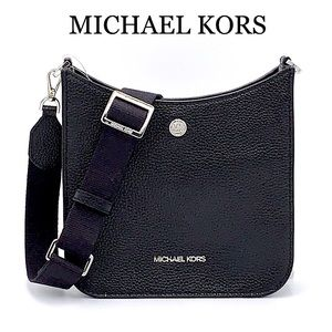 MICHAEL KORS Briley Small Pebbled Leather Messengr